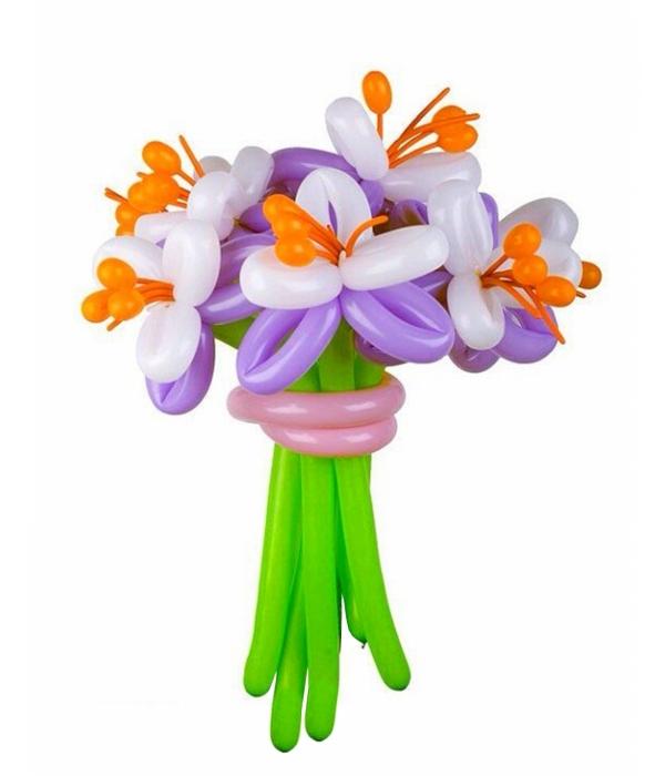 """Цветок из длинного шарика """"Марго"""""""