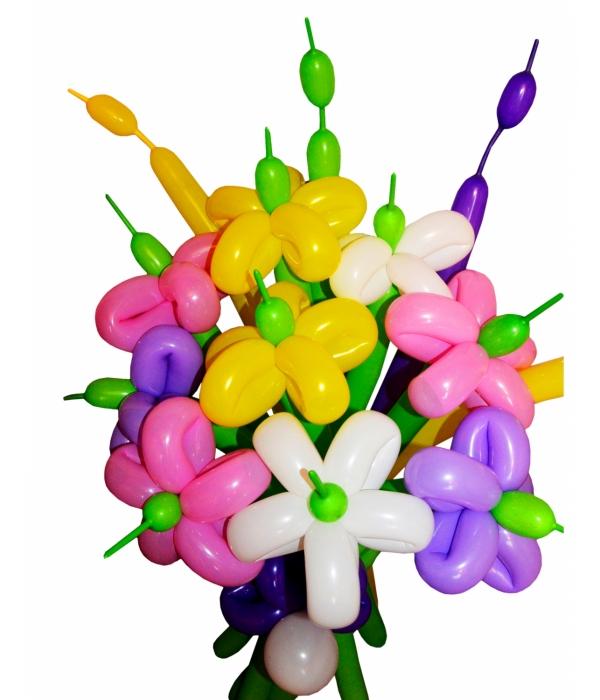 """Цветы из шаров """"Букет"""""""