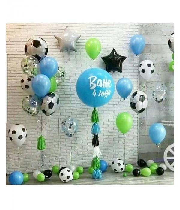 Гелевые шары на день рождения с доставкой