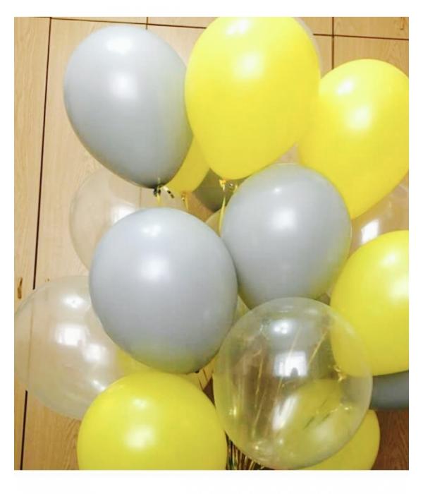 шары с гелием на день рождения