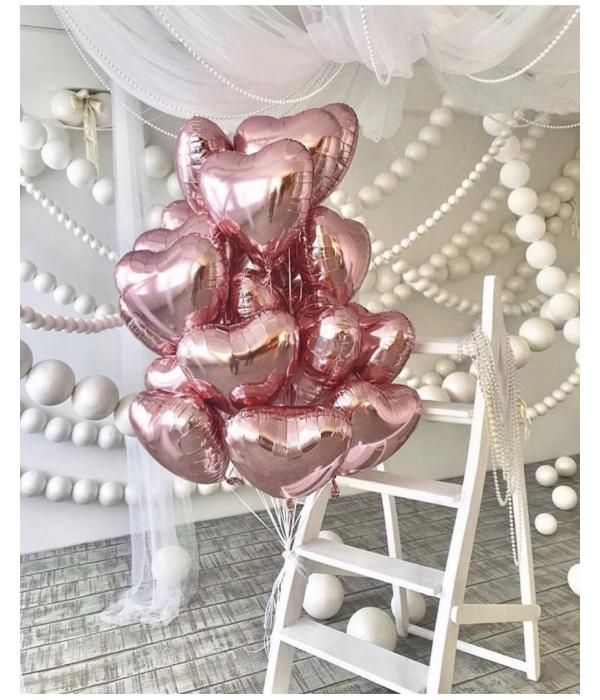 """Купить фольгированные шары """"Розовое золото"""" с доставкой"""