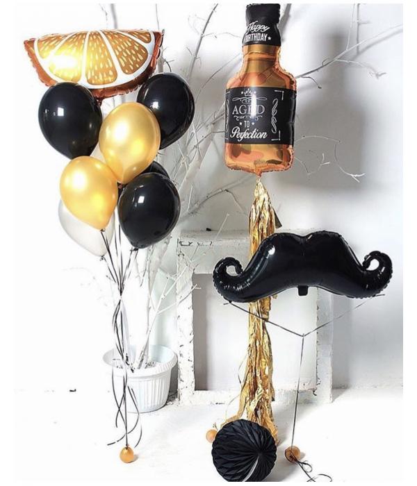 Заказать букет из шаров мужчине на день рождения