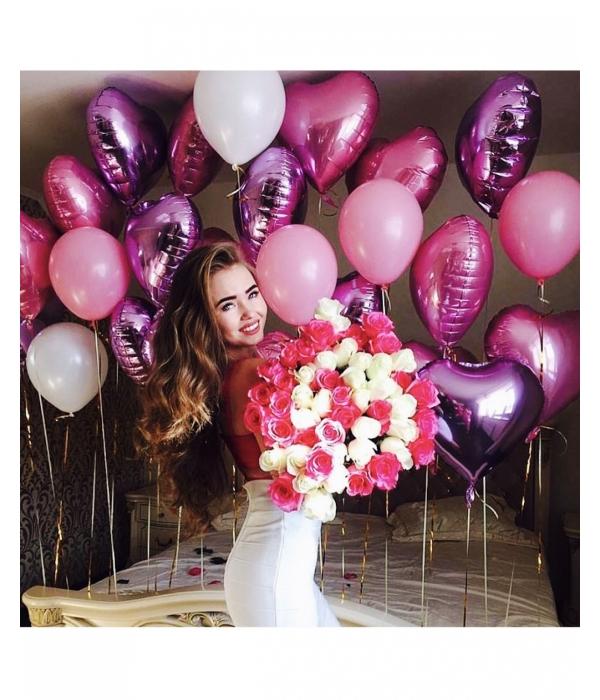 Купить шары с гелием с доставкой недорого по Москве
