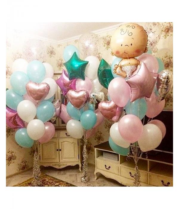 Заказать украшение комнаты для новорожденного мальчика или девочки
