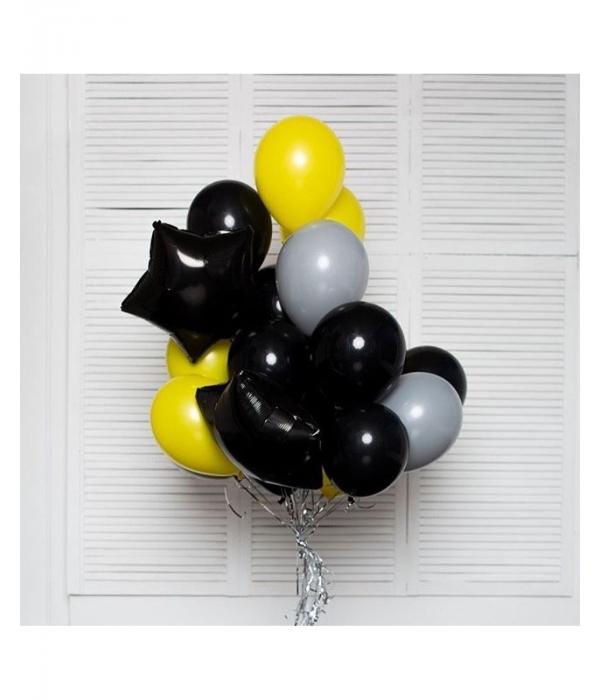 Черные шары на день рождения с доставкой
