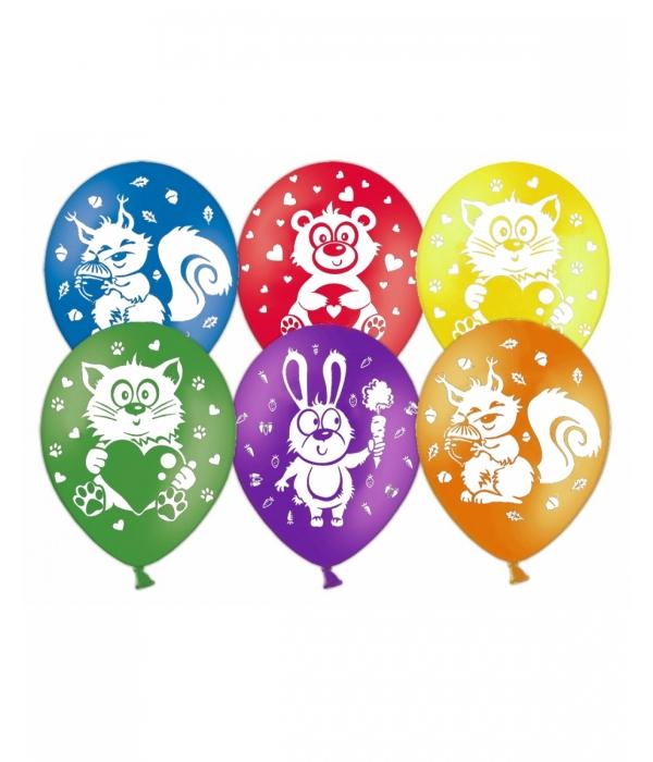 """Воздушные шары """"Зверята"""""""