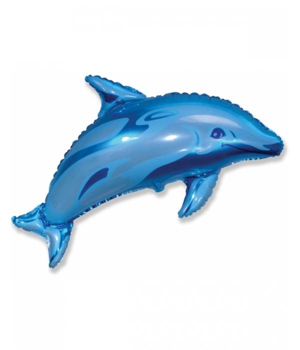 """Фольгированный шар """"Дельфин"""""""