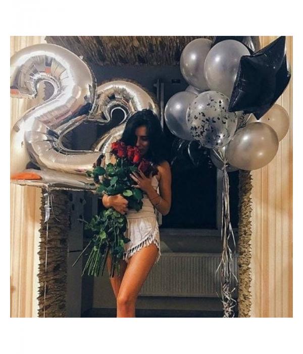 Букет из шаров на день рождения девушки 22 года