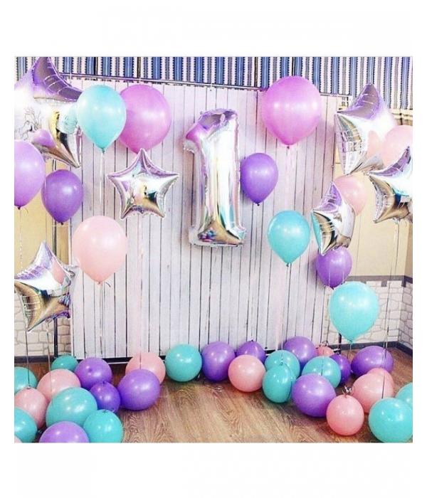 """Заказать украшение шарами на день рождения ребенка """"Виолетта"""""""