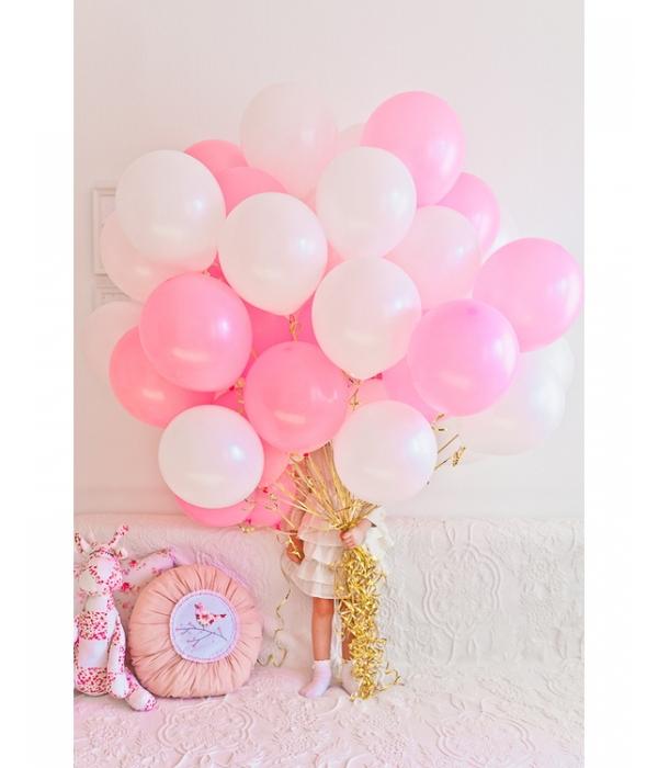 """Букет из розовых шаров """"Нежность"""""""