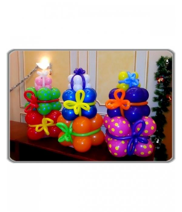 Подарок воздушные шары