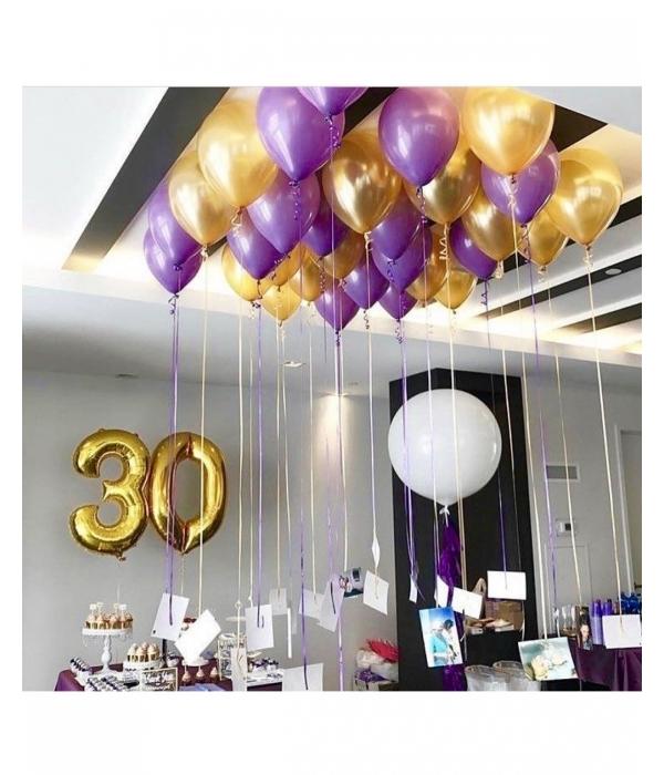 Композиции из шаров на 30 лет