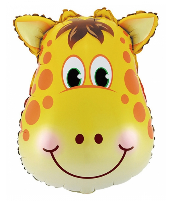 """Фольгированный шар """"Жирафик"""""""