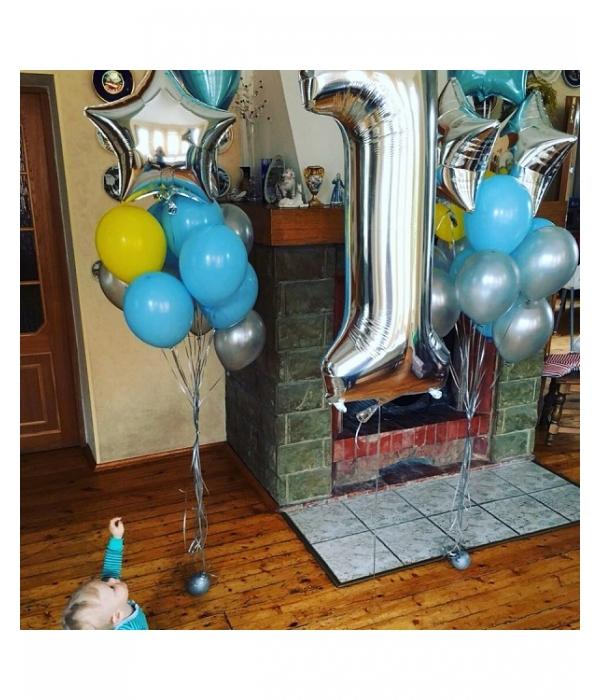 Оформление дня рождения 1 годик мальчику День варения М
