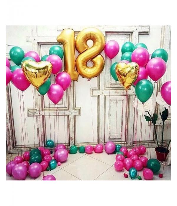Заказать оформление шарами день рождения