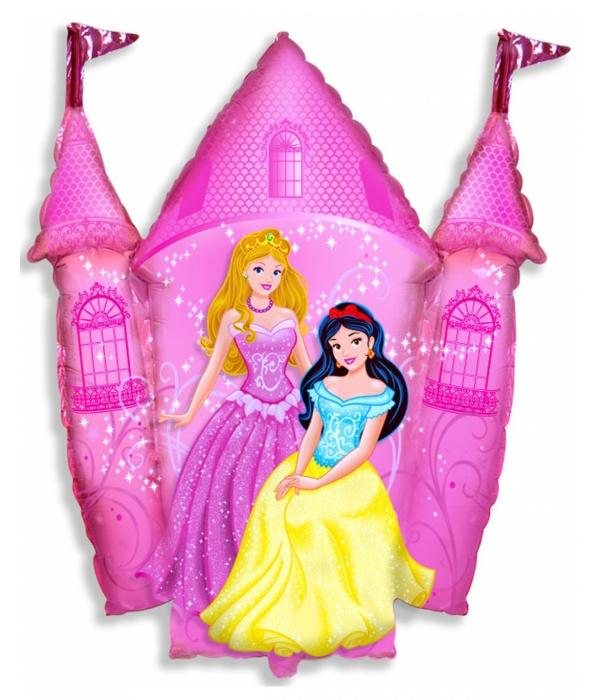 """Фольгированный шар """"Замок принцессы"""""""