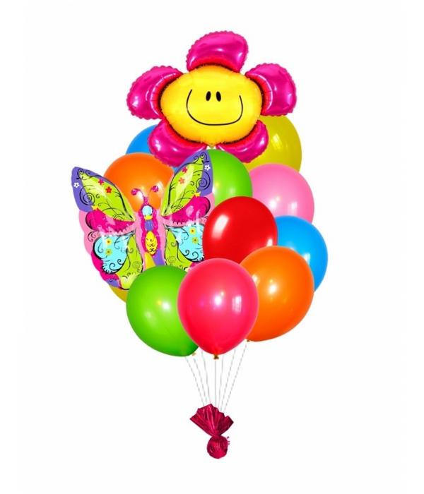 """Букет из воздушных шаров """"Лето"""""""
