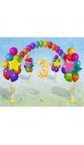 Праздничный микс из шаров для детей №1