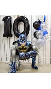 """Композиция из шаров """"Бэтмен 2"""""""