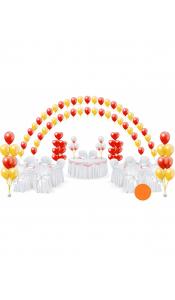 Микс свадебных шаров №15