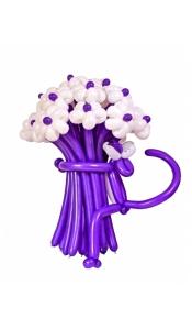 """Букет цветов из шариков """"Пантера"""""""
