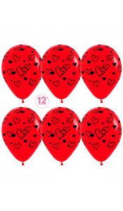 """Воздушные шары """"Нарисуй любовь"""""""
