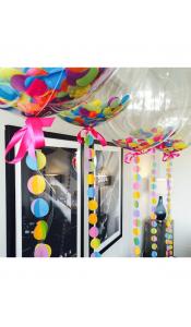 Большие прозрачные шары 60 см с конфетти